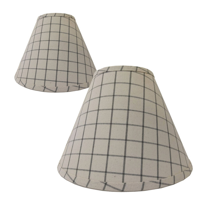 Summerville Osenburg and Pewter Lampshades