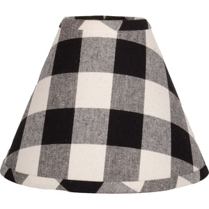 Buffalo Check Lampshades - Black