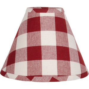 "Buffalo Check Red 16"" Lampshade"