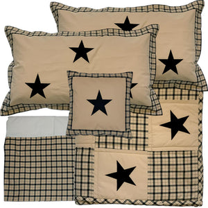 Farmhouse Star King Quilt Bundle - 5 pc Set