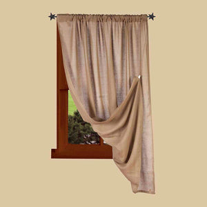 Heirloom Oat Primitive Drapery Panel