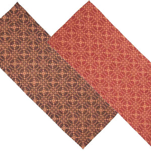 Marshfield Jacquard 36 Inch Table Runner Red or Black