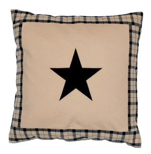 Farmhouse Star Pillow Cover by Primitive Home Decors