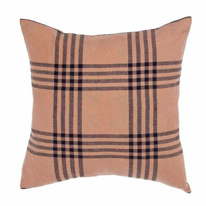 Chesterfield Check Pillow Cover Black by Raghu