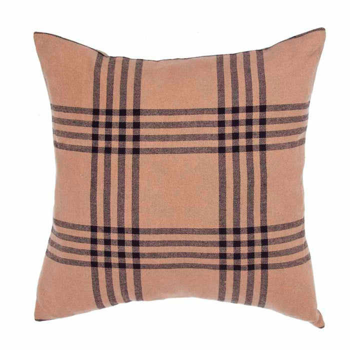 Chesterfield Check Pillow Cover Black by Raghu (PC590023)