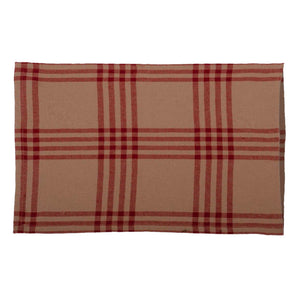 Chesterfield Check Pillow Sham Barn Red