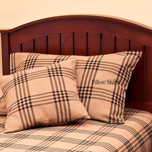 Chesterfield Check Pillow Sham Black by Raghu (PS590023)