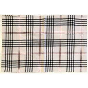 Chesterfield Check Pillow Sham Cream - Black - Red by Raghu