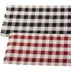"Buffalo Check 45"" Table Runners by Raghu"