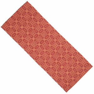 Marshfield Jacquard Table Runner 36 Inch Barn Red
