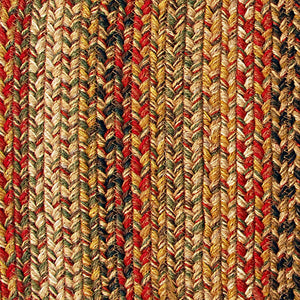 Kingston Jute Braided Rugs by HomeSpice Decor