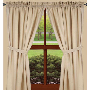Heirloom Cream Drapery Panel Set 86 inch