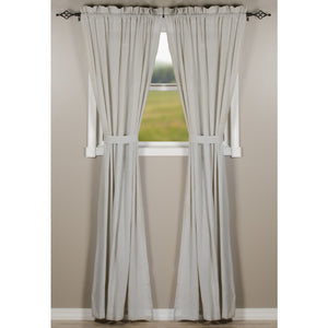 Heirloom Grey Drapery Panel Set 86 inch