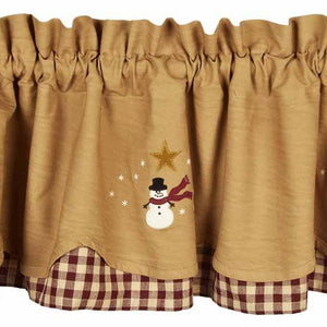 Share The Joy Fairfield Valance - Lined