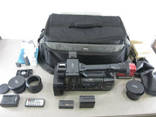 Load image into Gallery viewer, Sony HDR-AX2000 AVCHD High-Definition Handycam Camcorder & Accessories - Zeereez