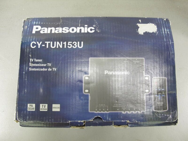 Panasonic CY-TUN153U NTSC Universal Car Vehicle TV Tuner New - Zeereez