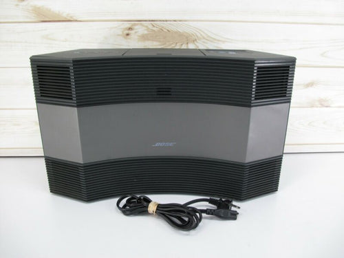 Bose Acoustic Wave CD-3000 Music System CD Player Radio Changer Graphite Grey - Zeereez