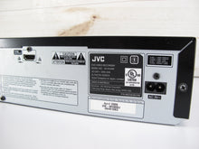 Load image into Gallery viewer, JVC DR-MV80B DVD Video Recorder/VHS Video Cassette Recorder Combination Unit