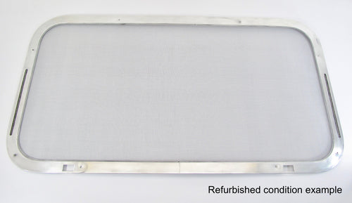 Replacement Rear Window Screen Frame for Airstream Trailers 1969-Mid 70s 44x24 Low Opening