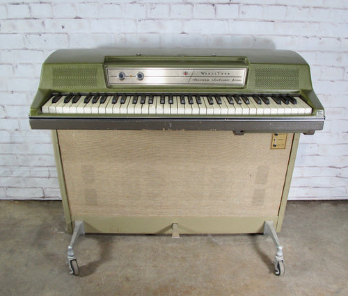 Vintage Wurlizer 214A Classroom Electric Piano with Built in Speaker Cabinet