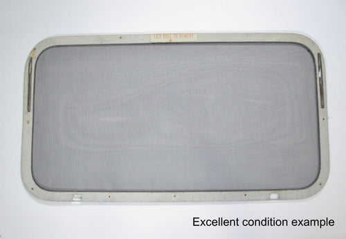 Replacement Rear Window Screen for Airstream Trailers 1969-Mid 70s 44x24 High Opening