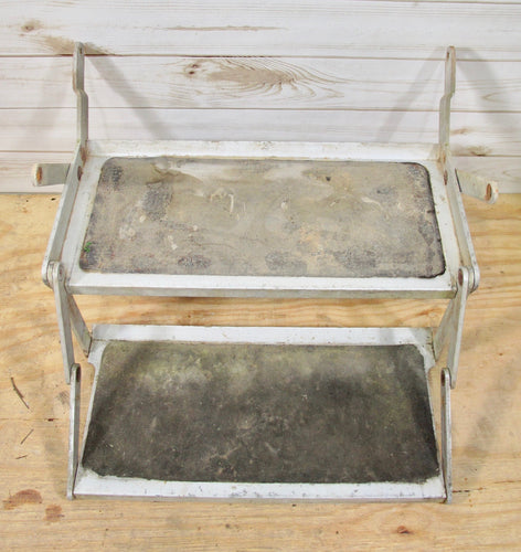 Airstream Solid Aluminum Double Step Assembly for 1972-00s