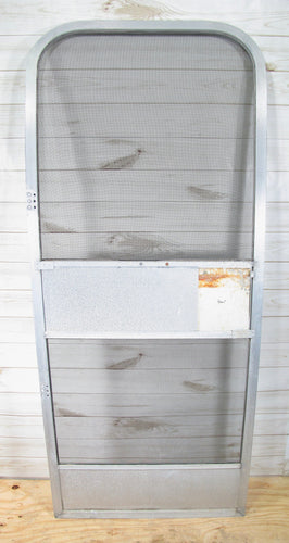 Airstream Original Replacement Aluminum 2 Hinge Screen Door for Late 1970s to 1980s Campers