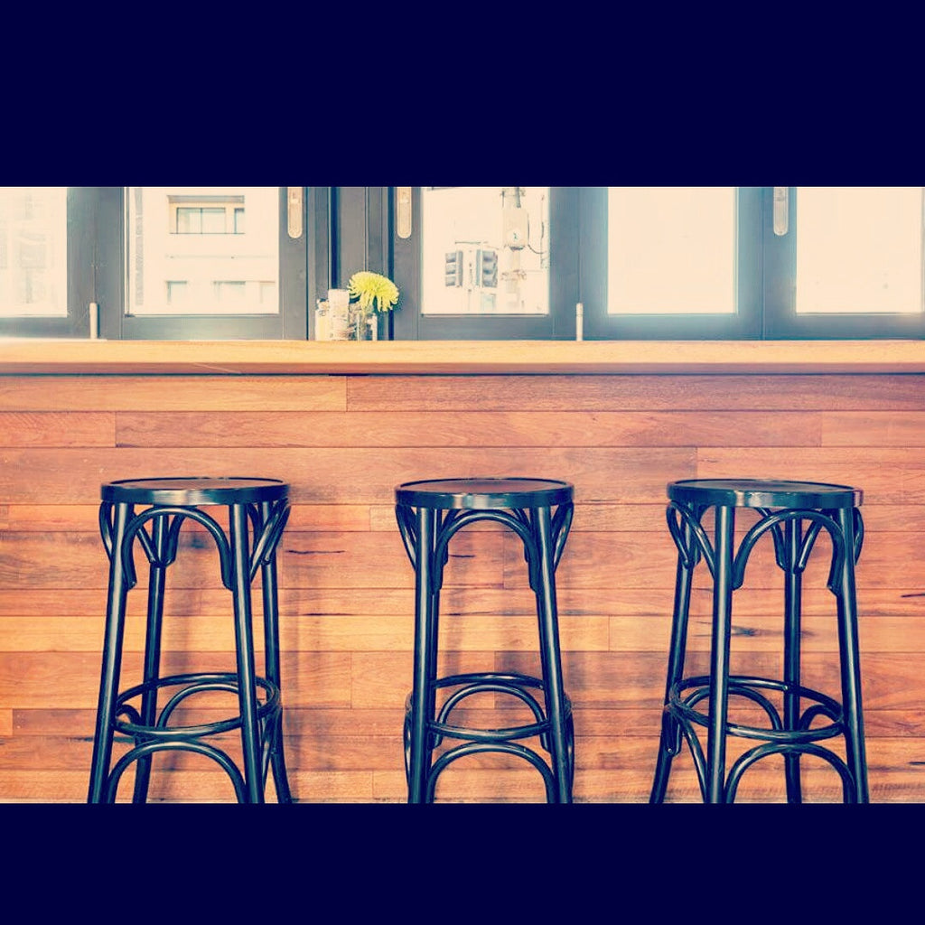 Blue Door Cafe - Bentwood Barstool by Nufurn