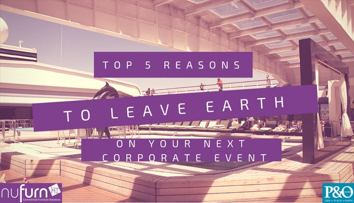 Top 5 Reasons Why You Should Leave Earth on Your Next Corporate Event