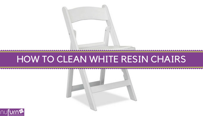 How to Clean White Resin Event Chairs