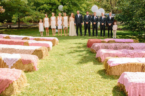The Golden Dandelion Rustic Wedding