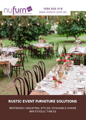 Rustic Event Furniture Catalogue