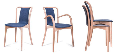 swan bentwood arm chair - paged