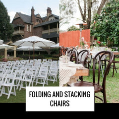 folding and stacking chairs