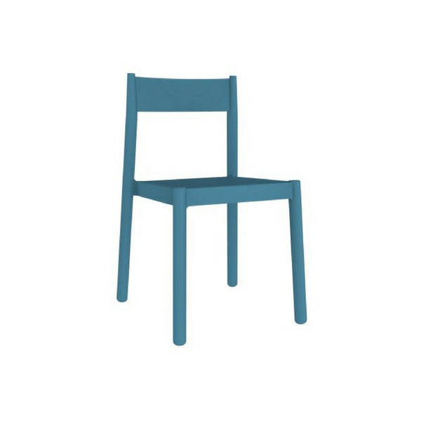 blue stackable outdoor chair - danna
