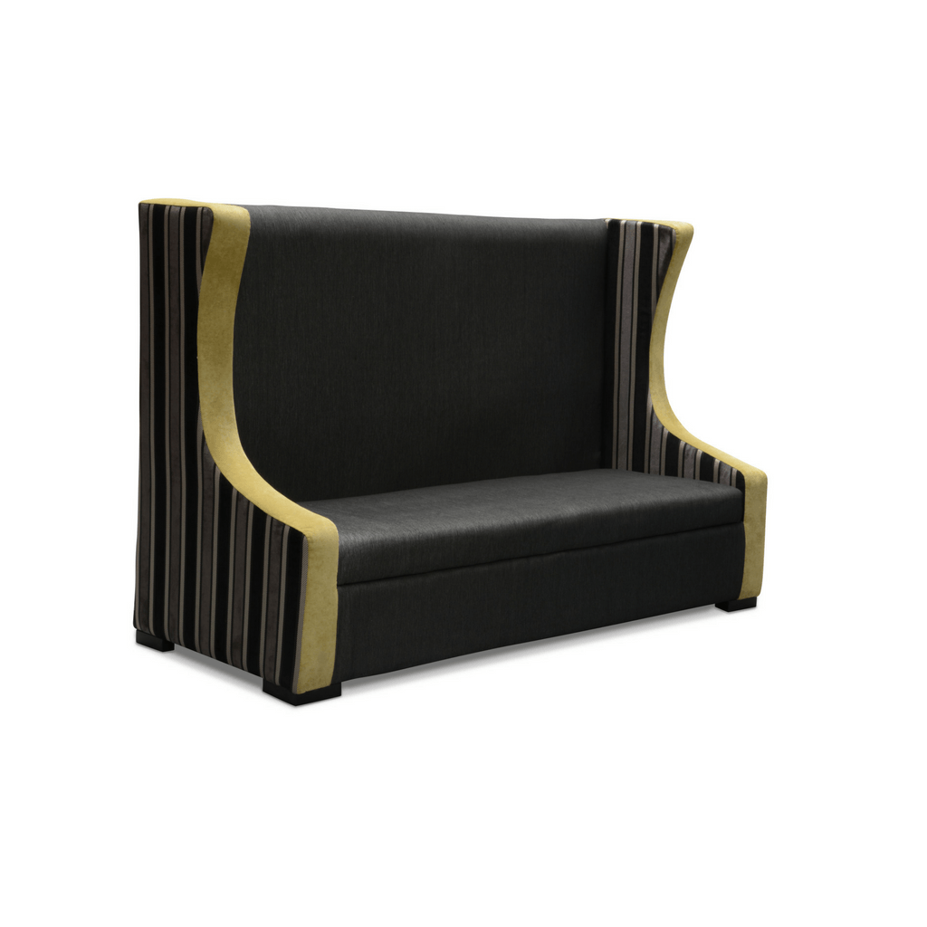 Banquette Bench on modern leather bench, dining bench, waiting bench, french country bench, high back bench, commercial soft seating bench, baxton studio bench, entry bench, built in breakfast bench, spring bench, settee bench, diy breakfast nook bench,