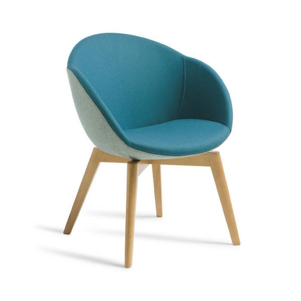 timber tub chair - Yves
