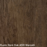 Werzalit Cafe Table Top - Rustic Dark Oak