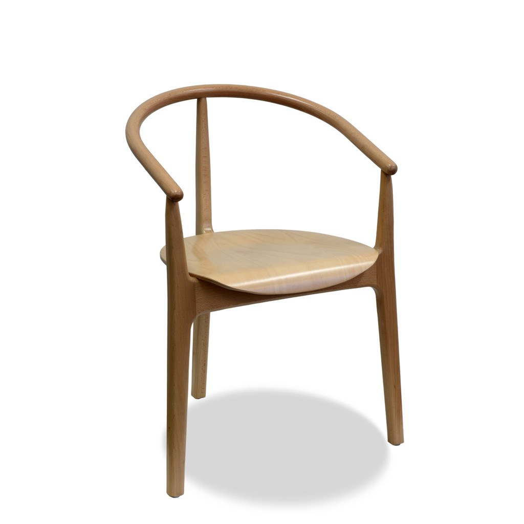 Alicija Arm Chair - Bon Bentwood Chair - Indoor Restaurant Chair - Nufurn Commercial Furniture