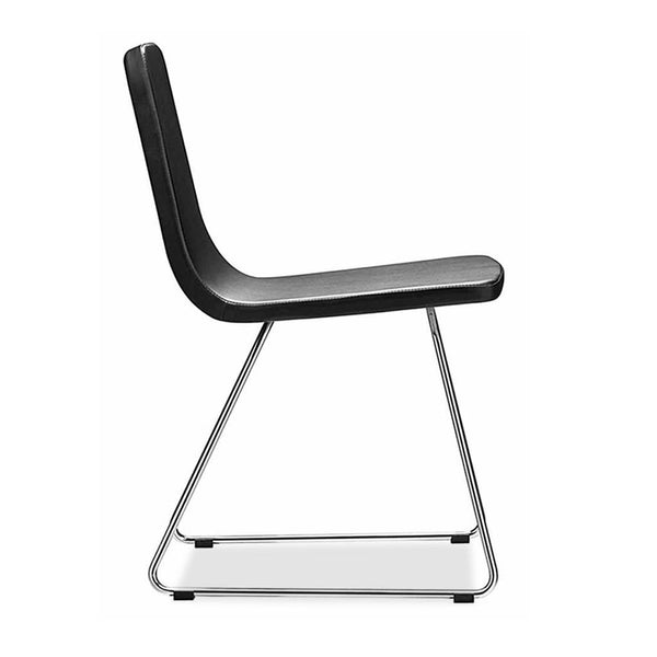 restaurant chair - aqua 157 sled by metalmobil