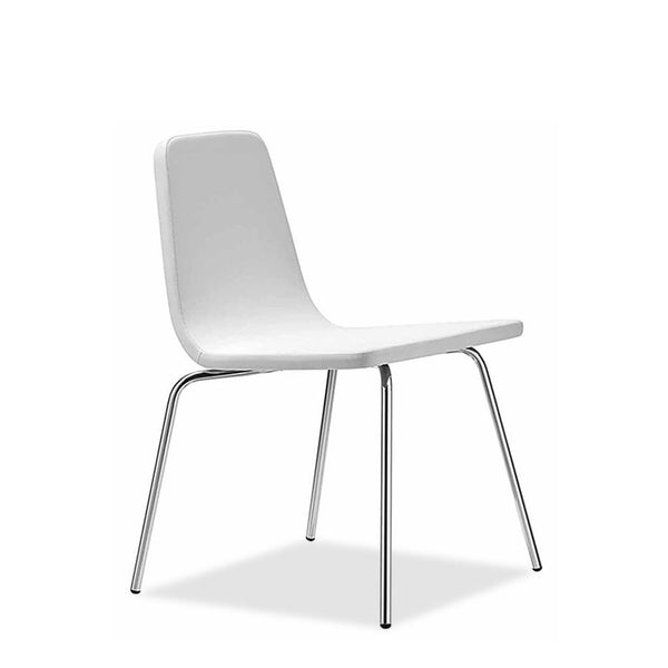 restaurant steel frame chair - aqua