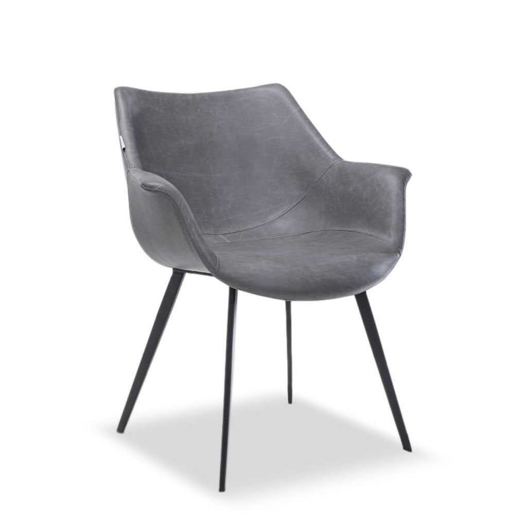 Archer Tub Chair - Metal Legs - Lounge and Dining Chairs – Nufurn ...