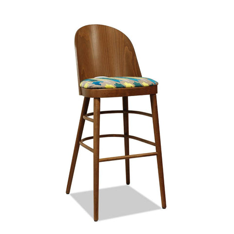 Astrid 2 - Bon Bentwood Barstool - Restaurant and Cafe Furniture - Nufurn Commercial Furniture