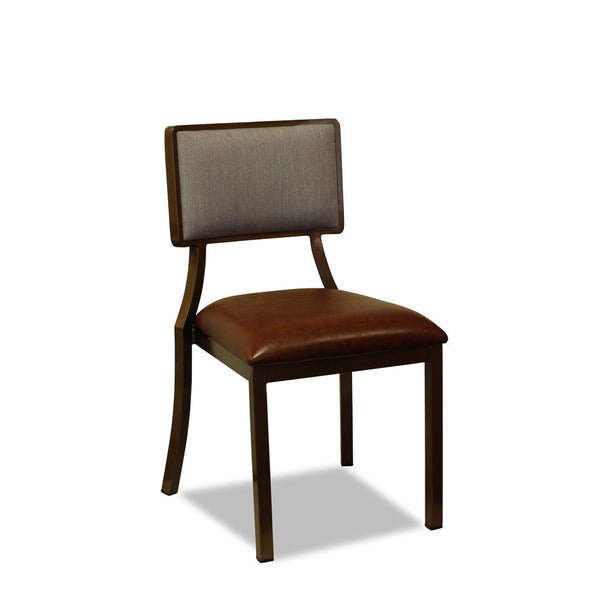 Avila Restaurant Chair: Aluminium Wood Look : Nufurn Plus Range - Nufurn Commercial Furniture