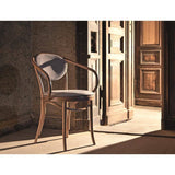 Fameg B-9/1 Bentwood Arm Chair Upholstered