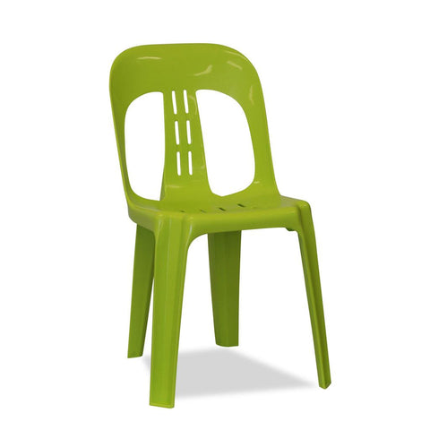Barrel - Plastic Stacking Chairs - Lime Green - Nufurn Commercial Furniture