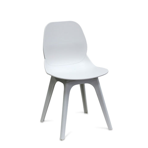white restaurant chair - blosson - Nufurn