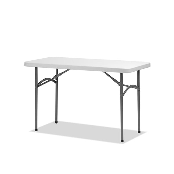 trestle folding table - max tough 4 ft