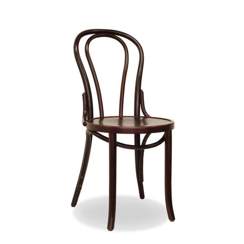 Bon Uno Bentwood Chair - Dark Walnut - Restaurant and Cafe Chair - Nufurn Commercial Furniture