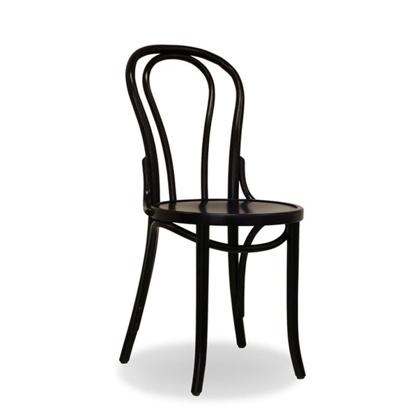 No.18 Bentwood Chair - Black - Bon Uno